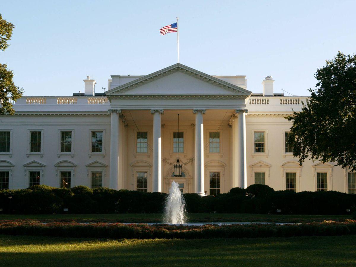 Foto: Fachada principal de la Casa Blanca. (Getty)