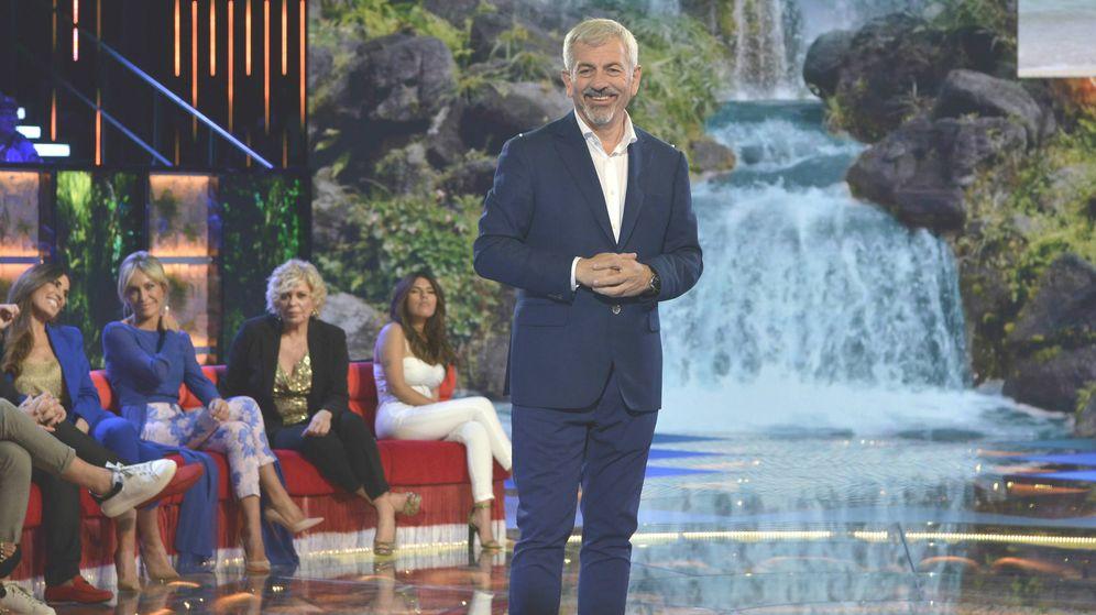 Foto: Carlos Sobera, criticado en 'Supervivientes 2019'. (Telecinco)