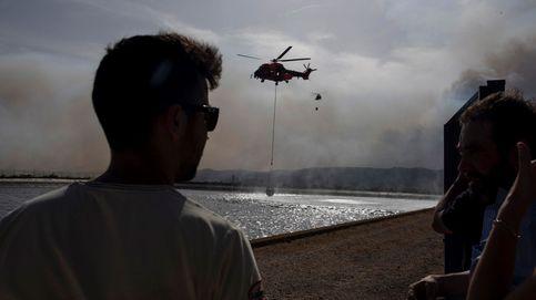 Las imágenes del monumental incendio forestal en Tarragona