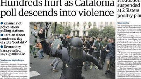 La prensa internacional destaca la represión en el 1-0: La violencia estalla en Cataluña