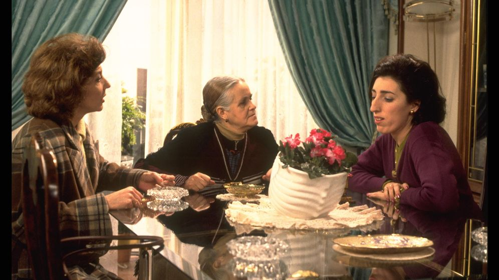 Foto: Lampreave en 'La flor de mi secreto' (1995).