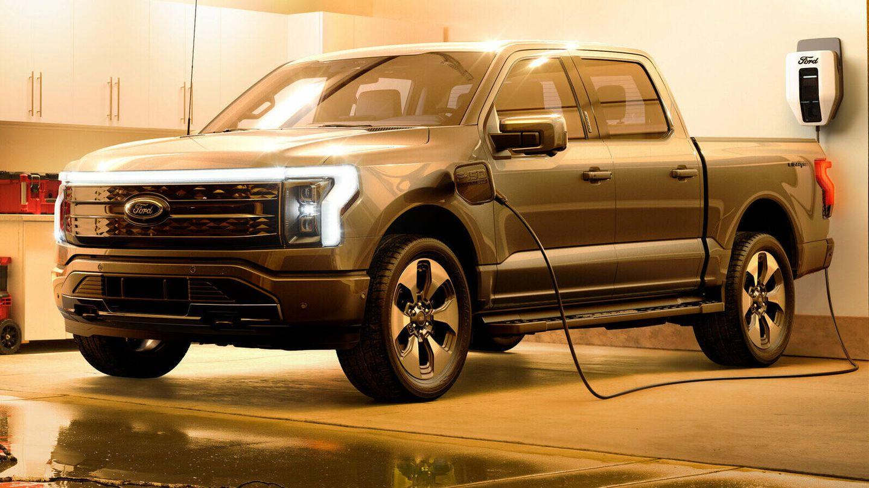 La camioneta eléctrica de Ford (Ford)