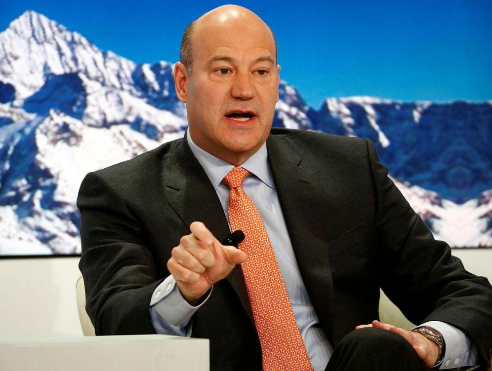 Foto: Gary Cohn, presidente de Goldman Sachs, en Davos, la capital del Estado independiente de los súper ricos. (R. Sprich/Reuters)