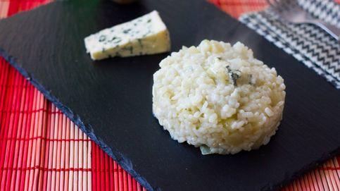 Arroz meloso de pera y gorgonzola, un plato triunfador