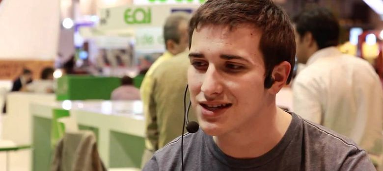 Foto: El joven empresario Pep Gómez, fundador de Fever, conocido como el Steve Jobs de Castellón.