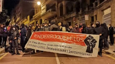 El Ayuntamiento de Barcelona critica el intento de desalojo de un centro okupa