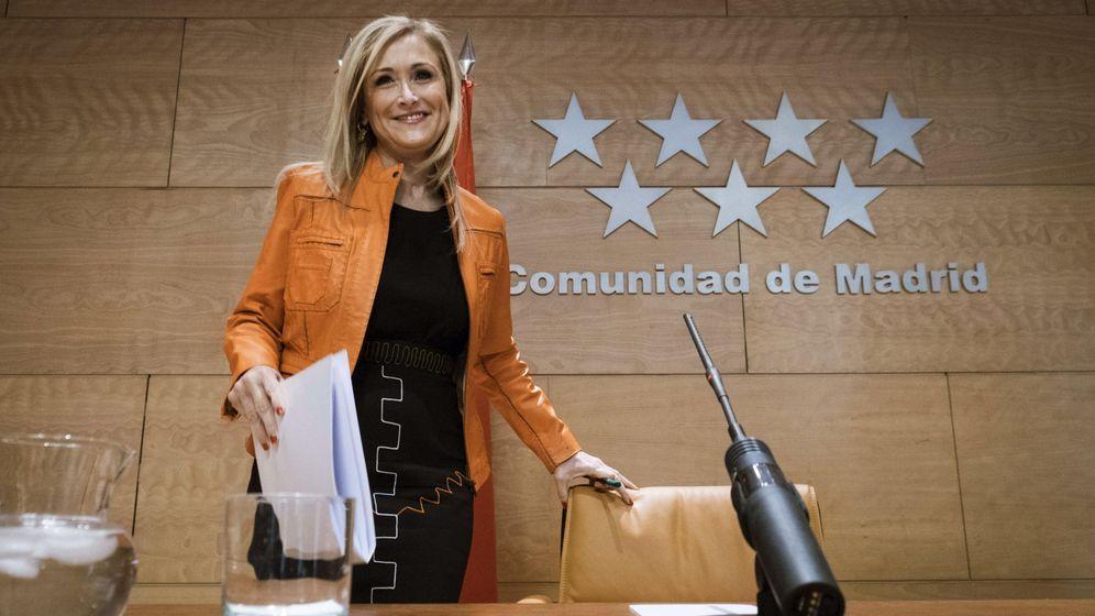 Foto: La presidenta de la Comunidad de Madrid, Cristina Cifuentes , en una imagen de archivo. (Efe)