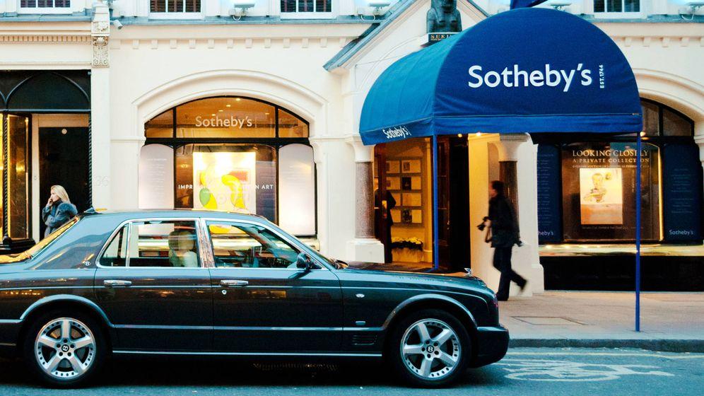 Foto: Fachada de Sotheby's en Londres. (iStock)