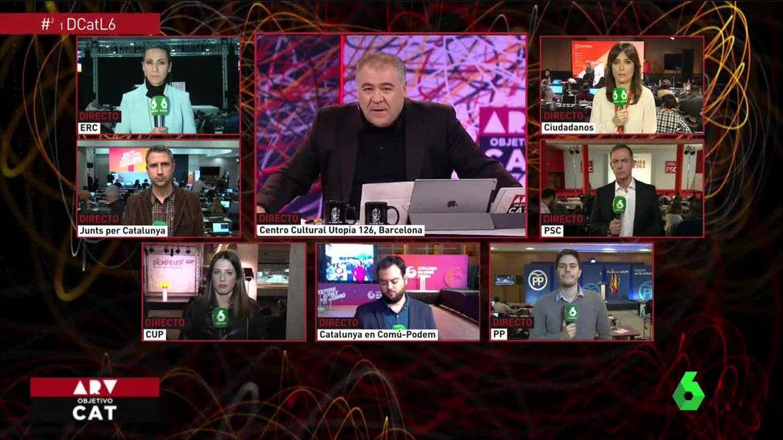 La cobertura informativa de Ferreras y Pastor, la preferida por la audiencia (12,7% y 13,1%)
