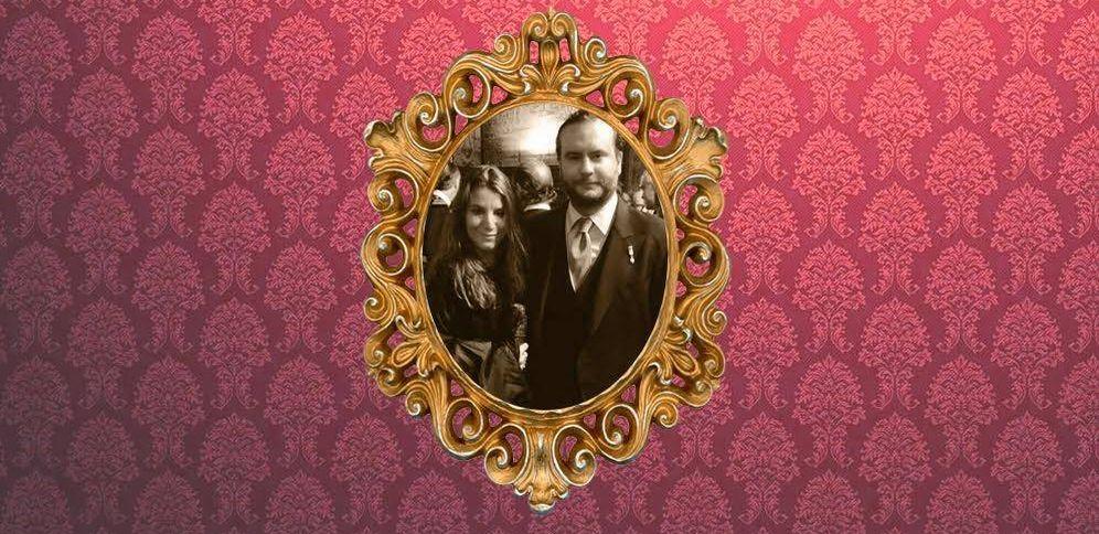 Foto: Casilda de Medina y su novio Ignacio de Loyola, en un fotomontaje elaborado por Vanitatis.