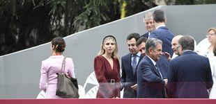 Post de La primera dama de Andalucía arrasa en su primera Fiesta Nacional con look sevillano