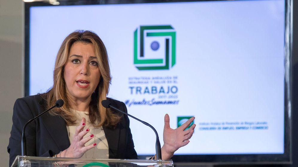 Foto:  La presidenta andaluza, Susana Díaz. (EFE)