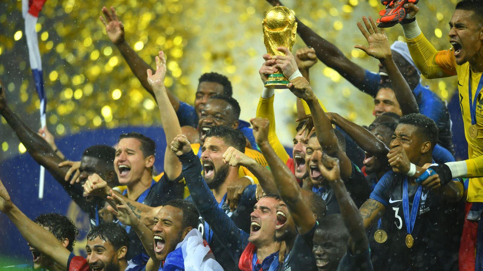 Foto: Francia volvió a ganar el Mundial 20 años después. (Reuters)