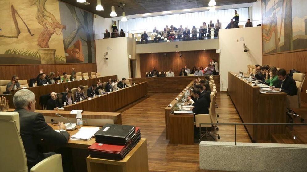 Foto: Pleno del Ayuntamiento de Leganés.
