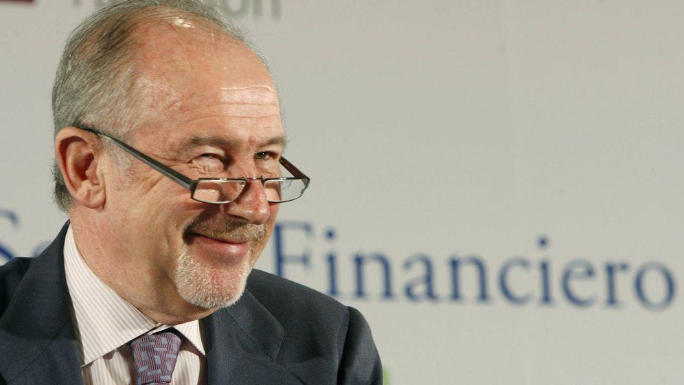 Foto: Rodrigo Rato, expresidente de Bankia, en un encuentro de Deloitte en 2010. (EFE)