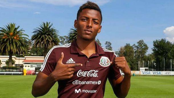 Foto: Joao Maleck, en una convocatoria con la selección mexicana.