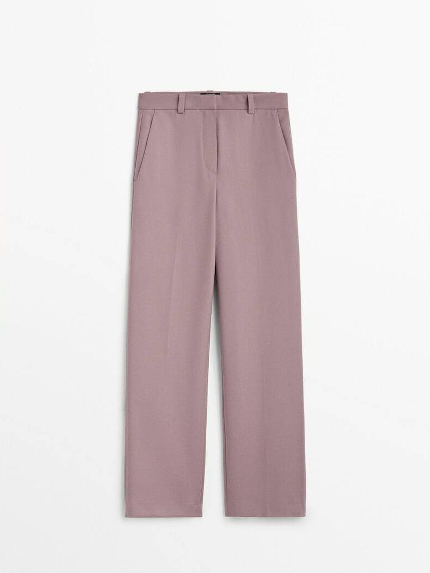 Pantalón de vestir de Massimo Dutti. (Cortesía)