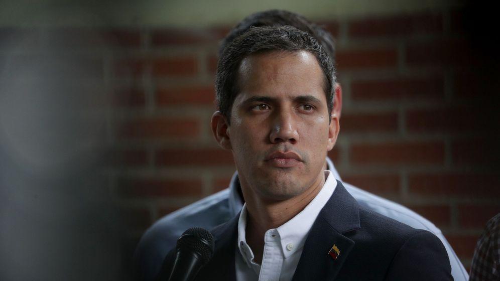 Foto: El líder opositor Juan Guaidó, reconocido como presidente interino de Venezuela por más de cincuenta países. (EFE)