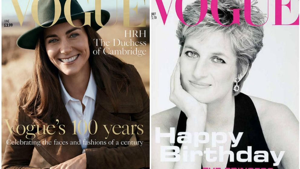 Kate Middleton, tras los pasos de Lady Di: protagoniza una portada de Vogue