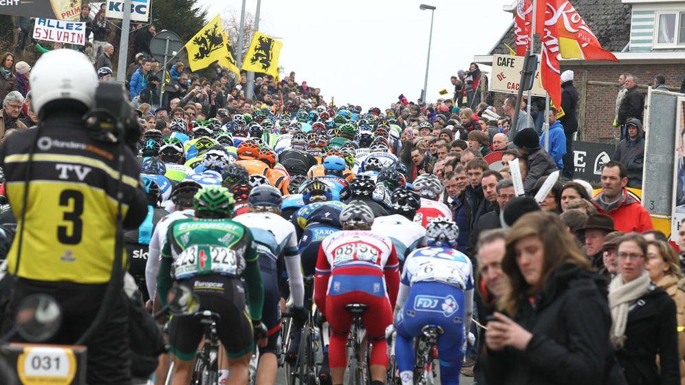Foto: El Tour de Flandes en su máxima expresión.
