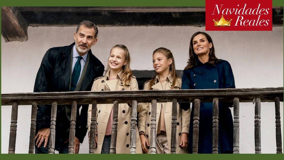 La Nochebuena de Felipe y Letizia, la más secreta de los reyes europeos
