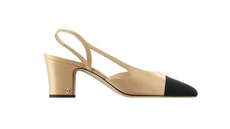 Zapatos bicolor Chanel. (Cortesía)