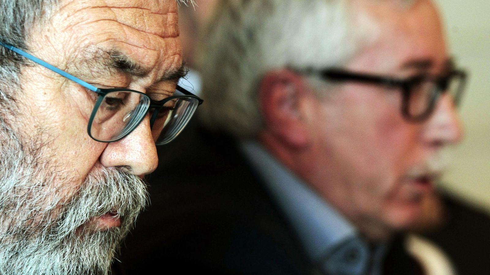 Foto: Méndez, secretario de UGT, junto a Fernández Toxo, de CCOO (Efe)