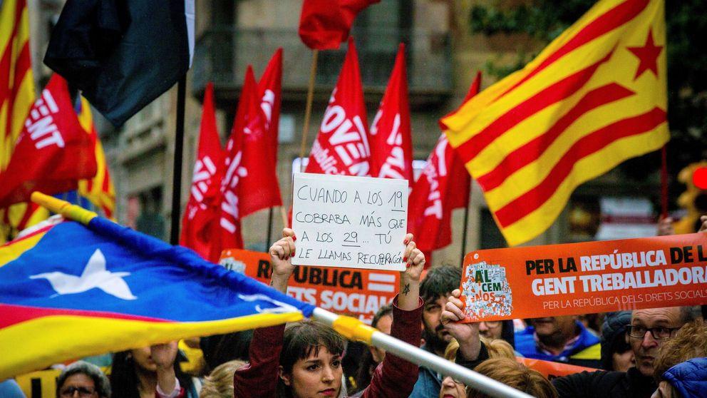 El independentismo prepara unos sindicatos para 'cargarse' a CCOO y UGT