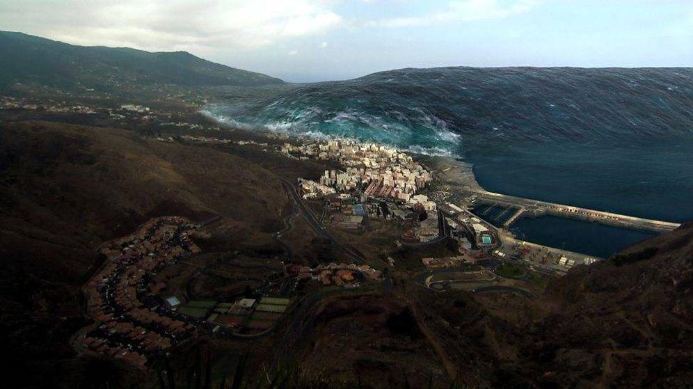 Foto: Documental de la BBC basado en el tsunami de La Palma.
