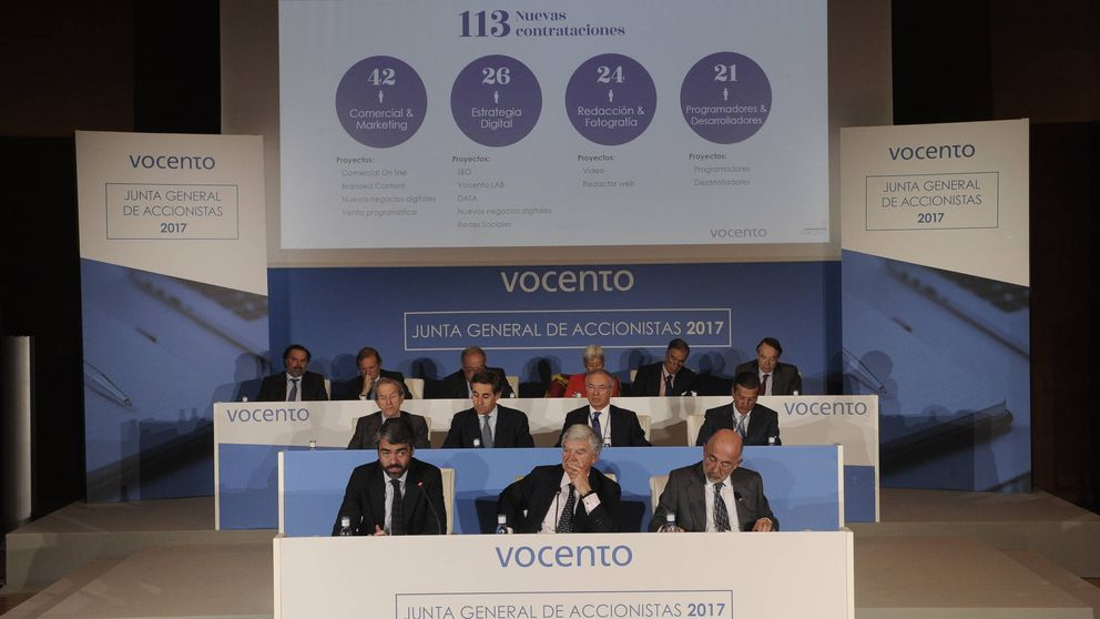 Vocento refinancia parte de su deuda millonaria hasta 2021