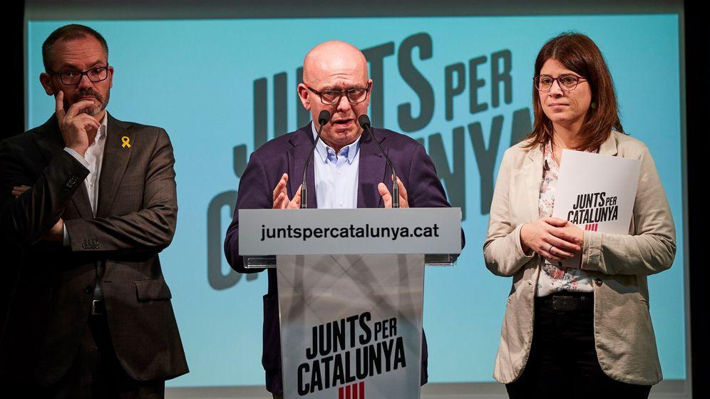 Foto: Gonzalo Boye (c), Josep Costa (i) y Gemma Geis. (EFE)