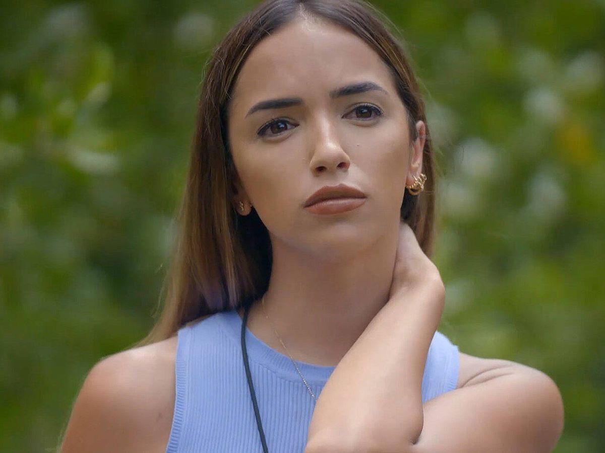 Foto: Lucía, en 'La última tentación'. (Mediaset)