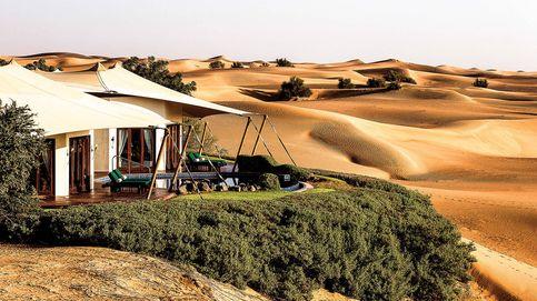 Resorts de lujo en pleno desierto: el placer de vivir en medio de la nada