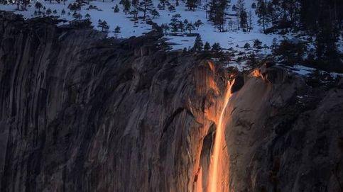 La espectacular 'cascada de fuego' del Parque Nacional de Yosemite