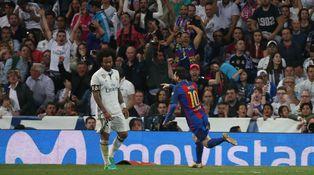 Messi levanta a los culés en el Bernabéu y algún madridista queda con el culo al aire