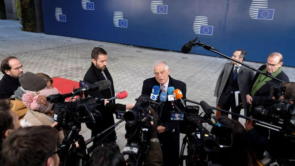 Foto: Josep Borrell, en Bruselas. (EFE)