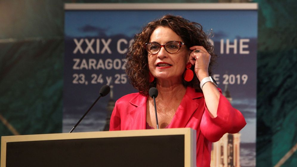 Foto: María Jesús Montero, en el XXIXCongreso inspectores de hacienda