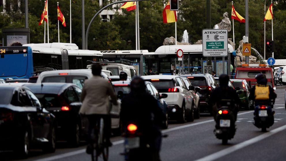 La Fiscalía investigará el aumento del tráfico en el centro de Madrid a pesar de las multas
