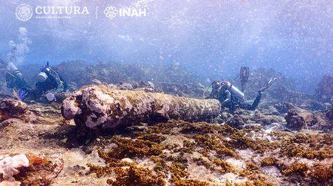 México descubre un extraño naufragio de hace más de dos siglos entre sus corales