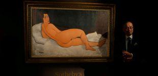 Post de El desnudo más famoso de Modigliani se vende por 131,8 millones de euros
