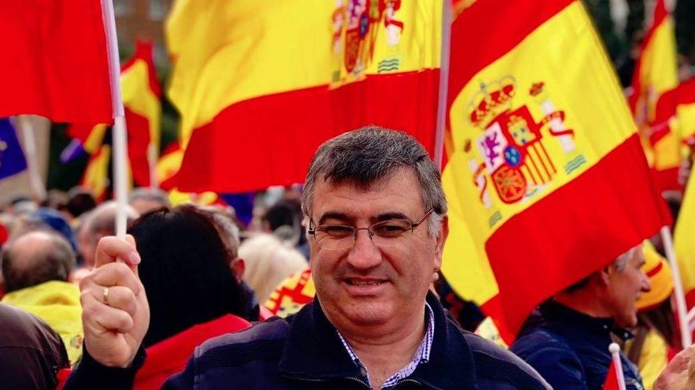 Foto: José María Fernández, candidato del PP en Serranillos del Valle.