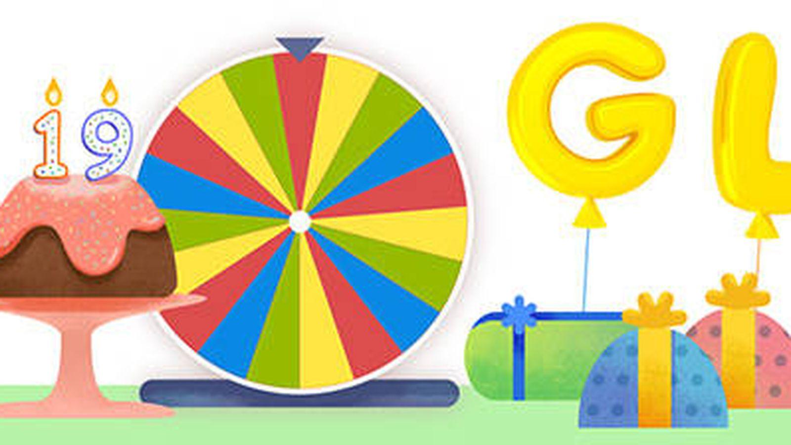 Doodle Ruleta De La Fortuna Del Cumpleanos De Google Estos Son Los