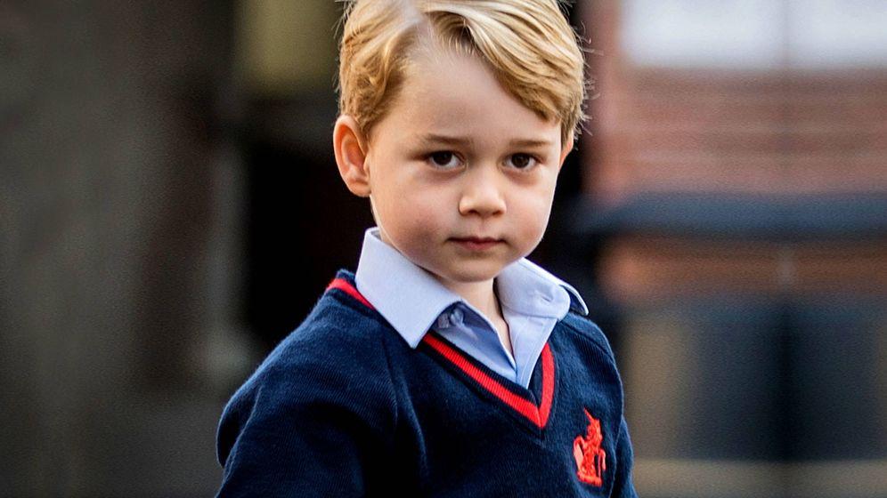 Foto: El príncipe George en una foto de archivo. (Getty)