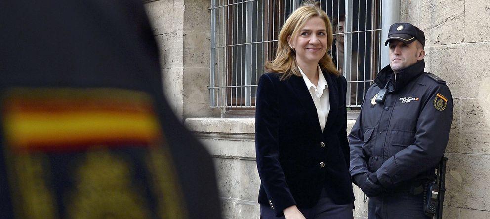 Foto: La infanta Cristina llegando a los juzgados de Palma. (Gtres)