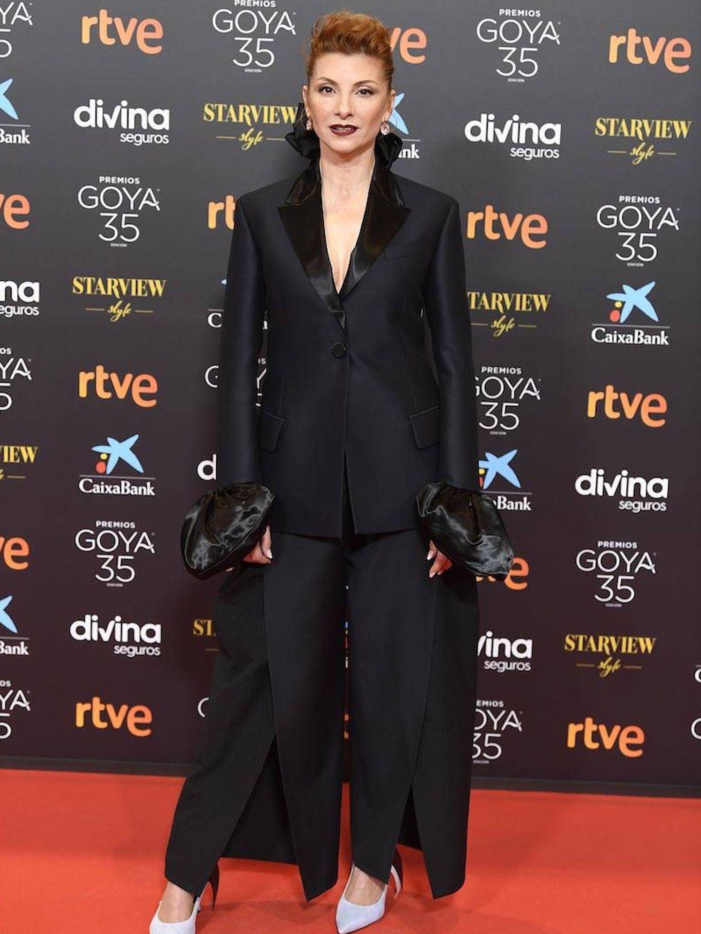 Nawja Nimri, en los Premios Goya. (Limited Pictures)