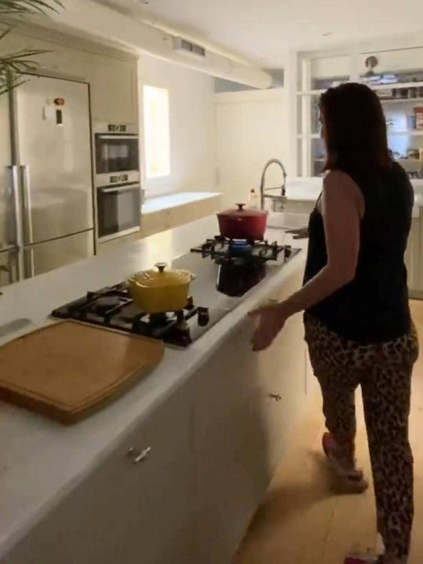 La cocina de Samantha Vallejo-Nágera. (Instagram @samyspain)