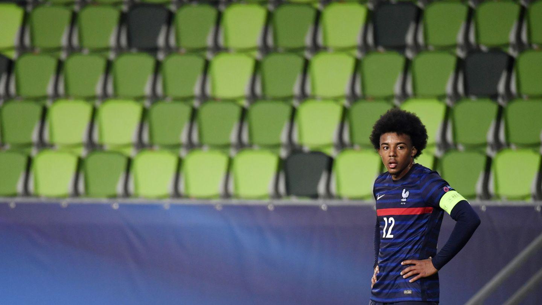 Koundé, capitán de Francia Sub21. (Reuters)