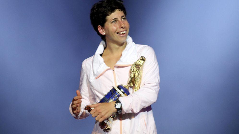Foto: Carla suarez ganó en Doha (Qatar) el torneo más importante de su carrera (Naseem Zeitoon/Reuters)