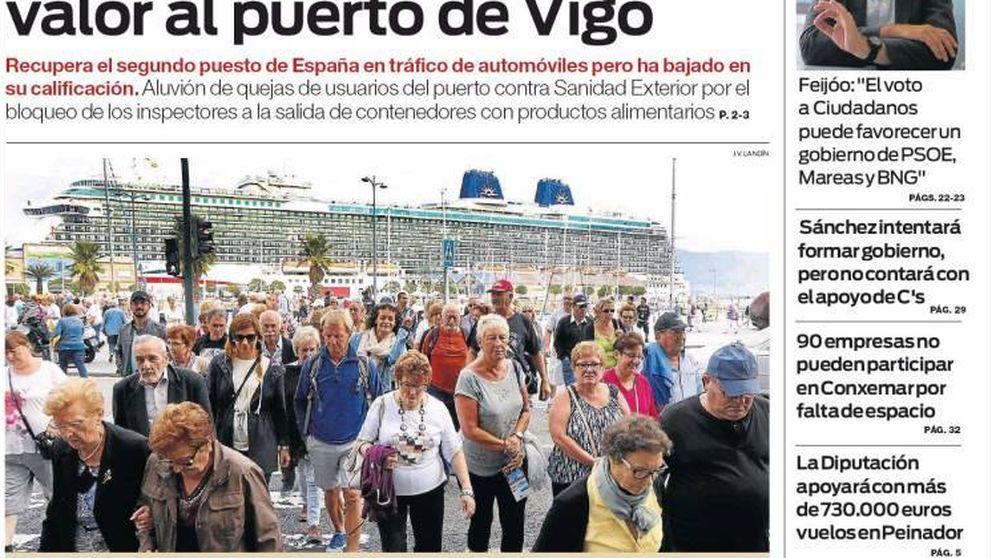 Feijóo, ante el 25S: El voto a Ciudadanos puede favorecer un gobierno de PSOE, Mareas y BNG