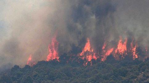 La UME se despliega para sofocar el fuego, que arrasa ya más de 8.000 hectáreas